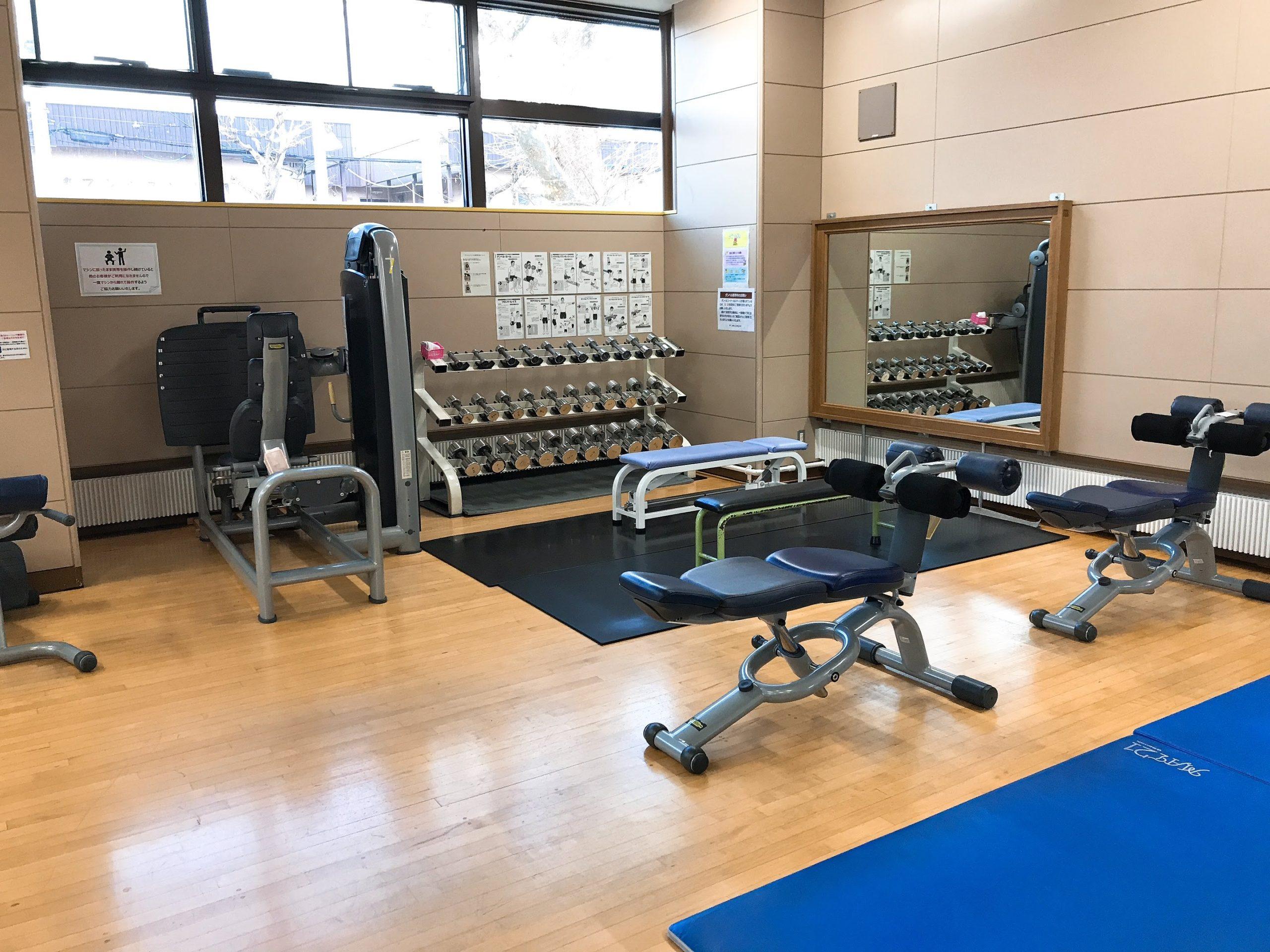 白石区体育館のジムは豪華!札幌市営の中でトップクラスの設備を楽しめる
